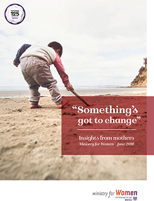 Cover image of Something's got to change report